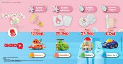 McDonald's FREE My Melody & ChoroQ Happy Meal Toys (13 September 2018 - 11 October 2018)