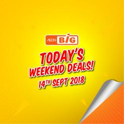 AEON BiG Today Promotion (14 September 2018)