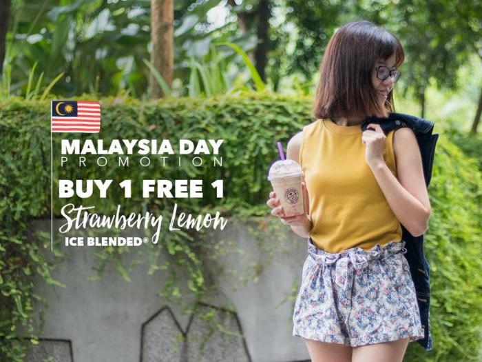 The Coffee Bean Malaysia Day Promotion Buy 1 Free 1 (16 September 2018)
