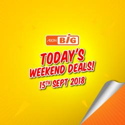 AEON BiG Today Promotion (15 September 2018)