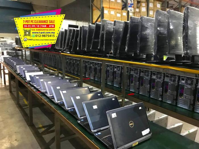 T-Pot PC Clearance Sale at Shah Alam (20 September 2018 - 22 September 2018)