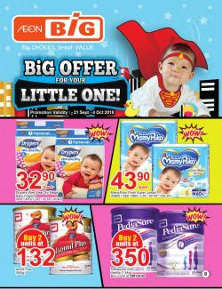AEON BiG Baby Promotion Catalogue (21 September 2018 - 4 October 2018)