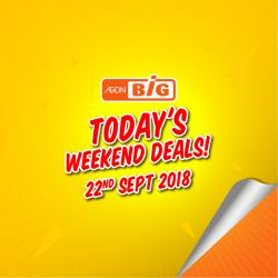 AEON BiG Today Promotion (22 September 2018)