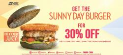 GSC Sunny Day Burger for 30% off