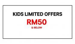 H&M Kids Limited Offers RM50 & Below (while stocks last)