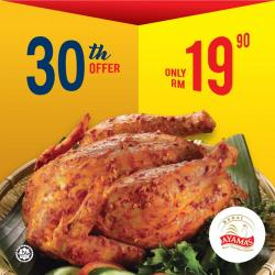 Ayamas 30th Special Offer RM19.90 Only (30 October 2018)