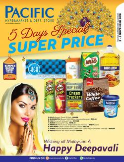 Pacific Hypermarket 5 Days Special Super Price Promotion (2 November 2018 - 6 November 2018)