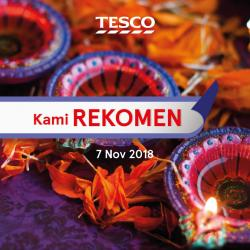 Tesco Malaysia REKOMEN Promotion published on 7 November 2018