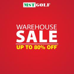 MST Golf Warehouse Sale up to 80% off at Subang Jaya (9 November 2018 - 18 November 2018)