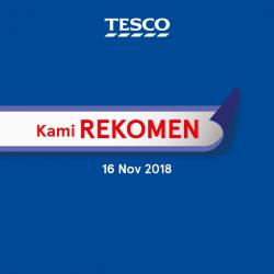 Tesco Malaysia REKOMEN Promotion published on 9 November 2018