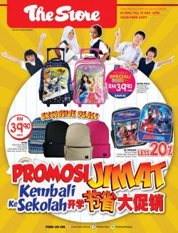 The Store Back to School Promotion Catalogue (23 November 2018 - 31 December 2018)
