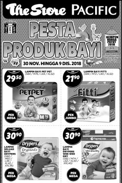 The Store and Pacific Hypermarket Baby Fair Promotion (30 November 2018 - 9 December 2018)
