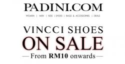 Vincci Shoes Promo From RM10 onwards