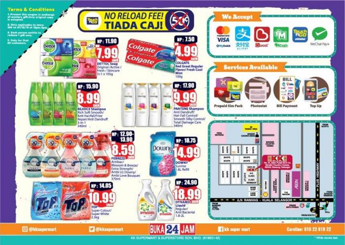 KK Super Mart Country Homes Rawang Opening Promotion (21 December 2018 - 27 December 2018)