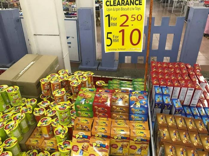 Jetz FFL Groceries Warehouse Sale As Low As RM0.50 at Odean Walk Bazaar