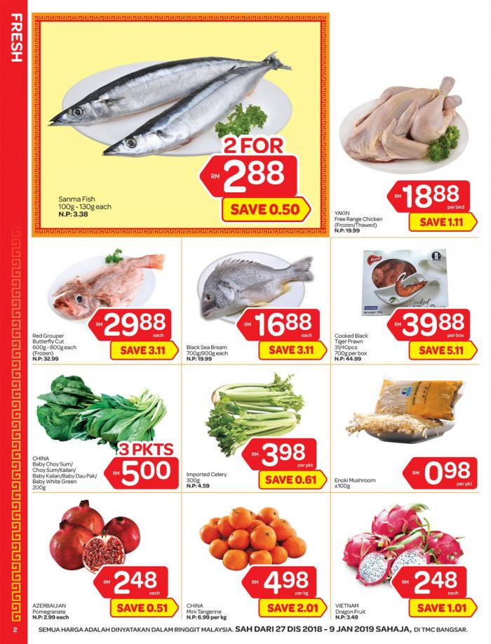 TMC Bangsar Promotion Catalogue (27 December 2018 - 9 January 2019)