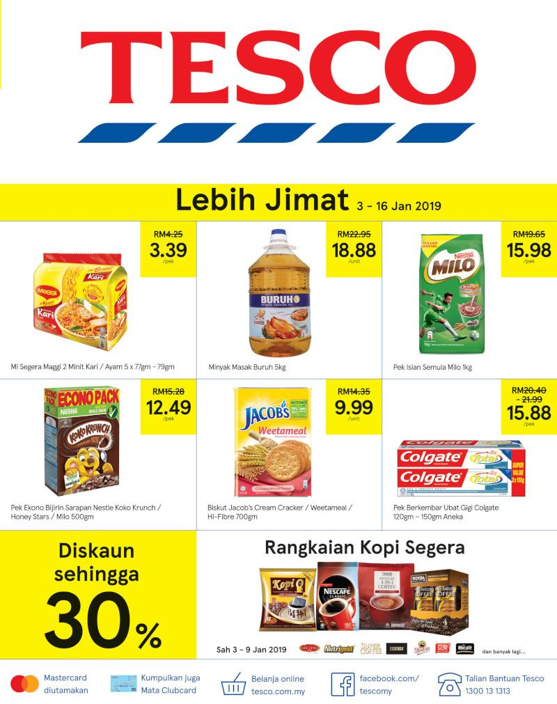 Tesco Promotion Catalogue (3 January 2019 - 16 January 2019)
