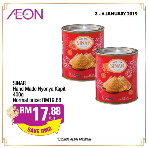 AEON Amazing Prosperous Selections (3 January 2019 - 6 January 2019)